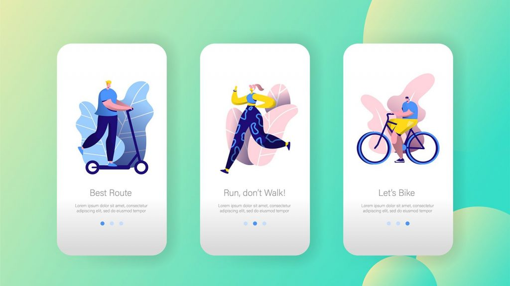 Fitness Lifestyle Mobile App